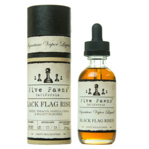 Black Flag Risen 0mg - 50ml liquid in 60ml bottle