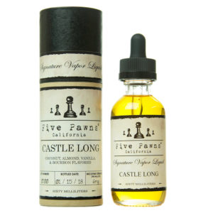 Castle Long 0mg - 50ml liquid in 60ml bottle