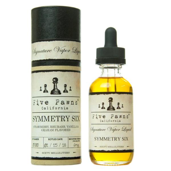 Symmetry Six 0mg - 50ml liquid in 60ml bottle