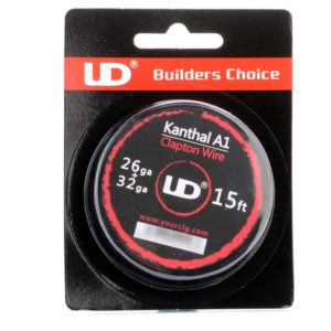 UD Kanthal A1 Clapton wire 15ft