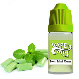 Twin mint gum
